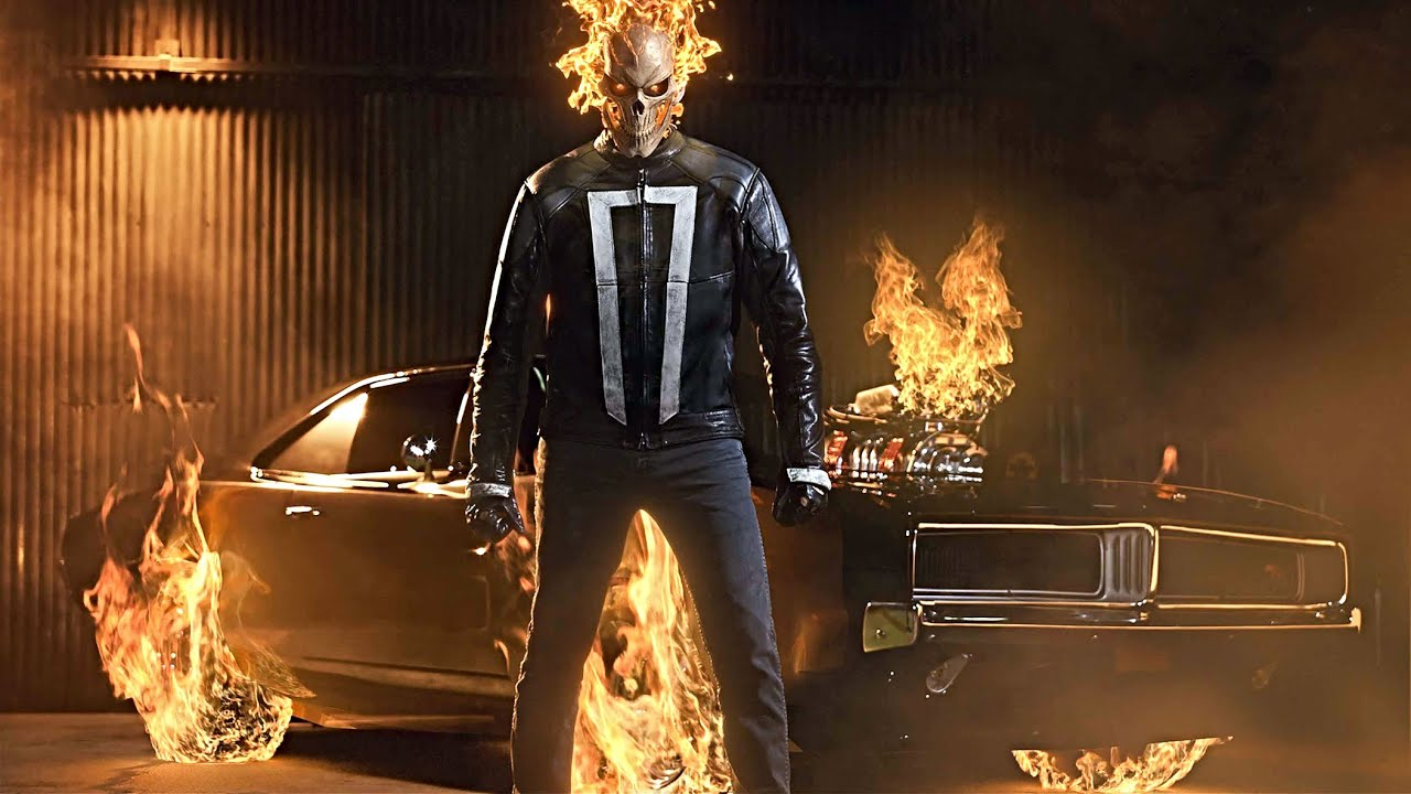 Download Robbie Reyes (Ghost Rider) All Powers Scenes | MCU Compilation [HD]