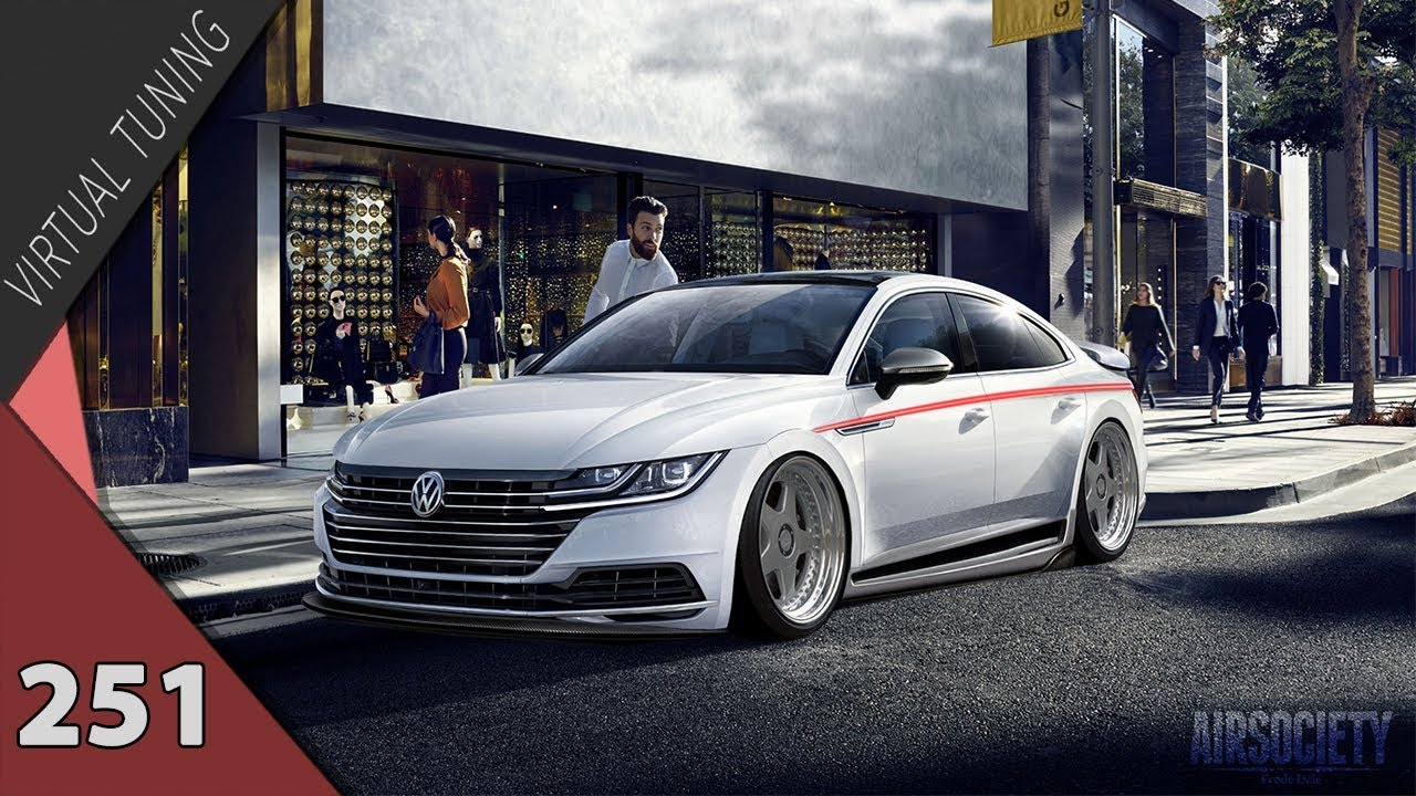 Virtual Tuning Volkswagen Arteon 251 Youtube