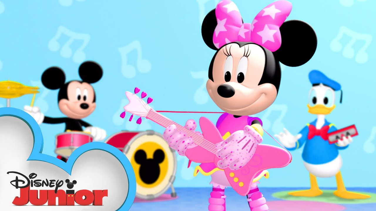 Download Minnie's a Pop Star 🎤| Mickey Mornings | Mickey Mouse Clubhouse | Disney Junior