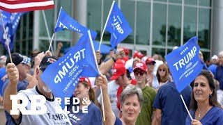 Republican stronghold Orange County goes from red to blue