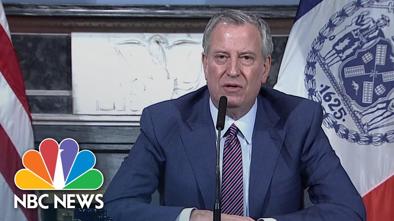 NYC Mayor Says Schools Are Closed For Academic Year  But ...
