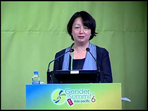 Yan Wang: China's Female R&D Personnel and Promotion Policies. GS6 Plenary 3-5