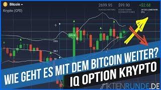 IQ Option Krypto: Wie geht es mit dem Bitcoin weiter?