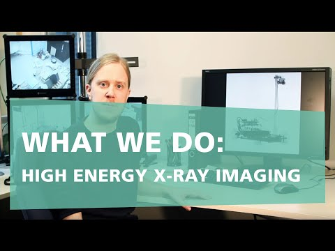 What we do: High-Energy X-Ray Imaging