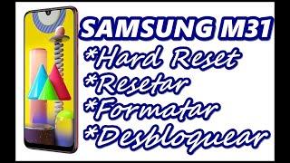 Dr.Celular - Samsung M31 - Hard Reset - Resetar - Formatar - Desbloquear