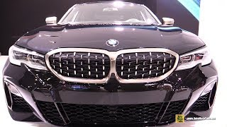 2019 BMW M340i xDrive - Exterior and Interior Walkaround - Debut at 2018 LA Auto Show