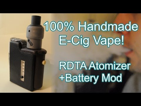 DIY | How to Make E-Cigarette at Home - Atomizer + Mod