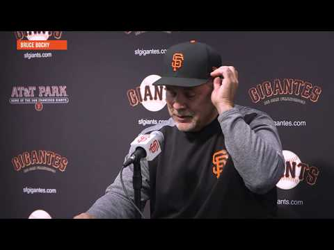 Bruce Bochy nearly used Brandon Belt as pitcher in Monday's win