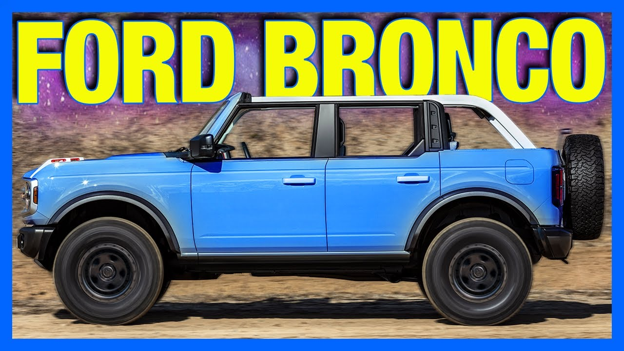 Building My 2021 Ford Bronco - download from YouTube for free