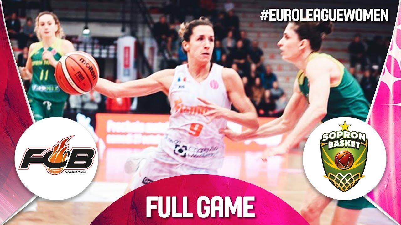 best loved e22f1 6fe08 Carolo Basket v Sopron Basket - Full Game -EuroLeague Women 2018-19