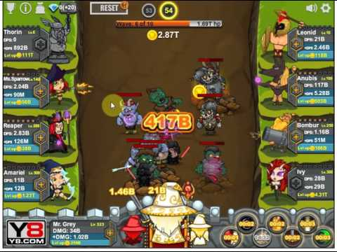 epic clicker saga of middle earth gameplay 3 reset youtube