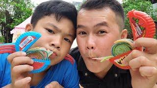 Trò Chơi Làm Hubba Bubba Chupa Chups ❤ ChiChi Kids TV ❤ Đồ Chơi Trẻ Em