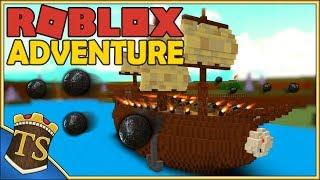 Danish Roblox | Build A Boat For Treasure-ARRGH! Pirate Ship in sight!