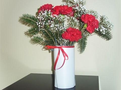 C mo hacer un florero con una botella de shampoo manualidadesconninos youtube - Fabrica de floreros de vidrio ...