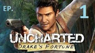 uncharted el tesoro de drake ps3 ep 1 gameplay en espaol walkthrough a la busqueda del dorado