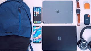 Minimal Everyday Carry 2019 (EDC) - What's in my Tech Backpack?