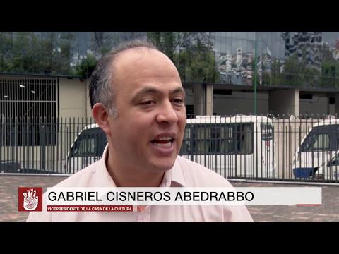 Presentación del libro Letreando en Quito