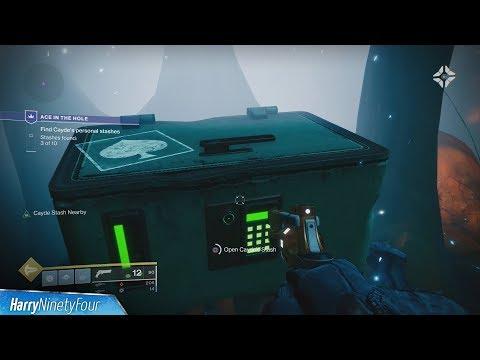 Destiny 2: Forsaken - Ace in the Hole Quest Walkthrough (Cayde's Personal Stash Locations)