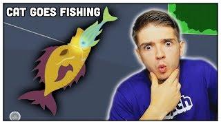ŠÍLENÉ NOVÉ RYBY! (Cat Goes Fishing)