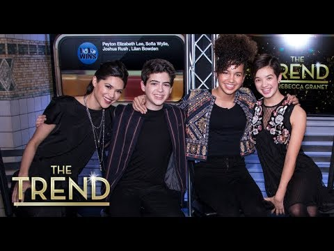 The Trend with The Cast of ' Andi Mack'