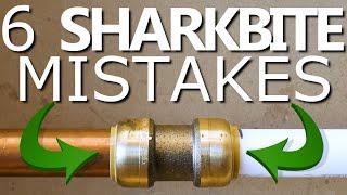 6 SHARKBITE Mistakes NOT To Make! | GOT2LEARN