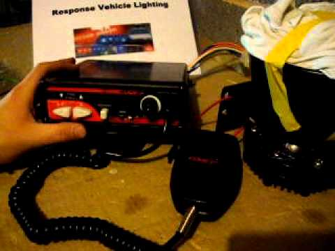 code 3 siren 3932 model for sale 23 12 10 youtube rh youtube com  code 3 siren control box wiring diagram
