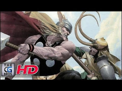 "CGI Animation Behind-the-Scenes Part 1 : Marvel's ""Thor & Loki: Blood Brothers"" by Magnetic Dreams"