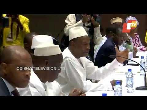 President Kovind Meets Guinean President Alpha Conde