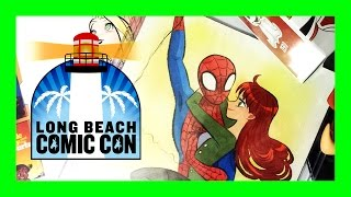 Long Beach Comic Con LBCC 2014 Haul - Sketches, Comics, Toys