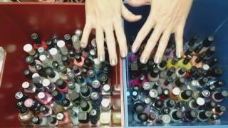 ASMR Whisper ~ Nail Polish Collection Show & Tell