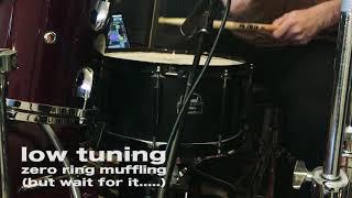 "Pearl Joey Jordison Signature Snare Drum - 13"" x 6.5"" Steel - Tuning / Tones / Review / Demo"