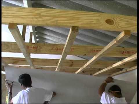 Nutec Brandered Ceilings Youtube