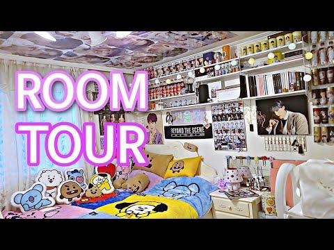 ENG 방탄 소년단 BTS ARMY ROOM TOUR 아미 룸투어 BT21 ROOM TOUR KPOP ROOM TOUR 덕후 덕질존 꾸미기 수납 정리 ROOM DECOR