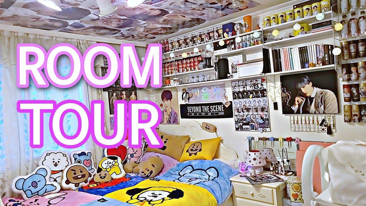 Download ENG 방탄 소년단 BTS ARMY ROOM TOUR 아미 룸투어 BT21 ROOM TOUR KPOP ROOM TOUR 덕후 덕질존 꾸미기 수납 정리 ROOM DECOR