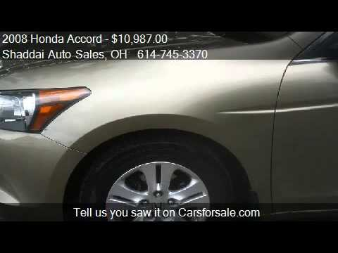2008 Honda Accord LX-P Sedan for sale in Whitehall, OH 43213
