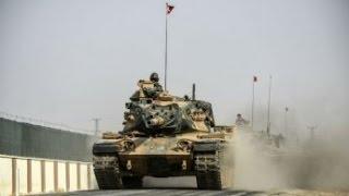 تركيا تطلب من التحالف بقيادة أمريكا دعما جويا في مدينة الباب