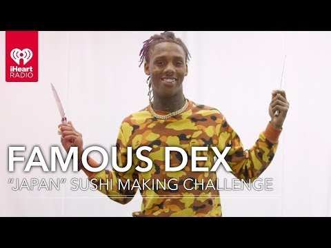 Famous Dex Attempts To Make Sushi From Scratch | Artist Challenge