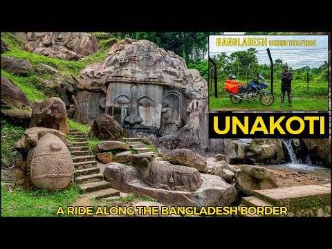 Ride along the Bangladesh Border and a world Heritage site Unakoti Tripura | Silchar | Agartala |