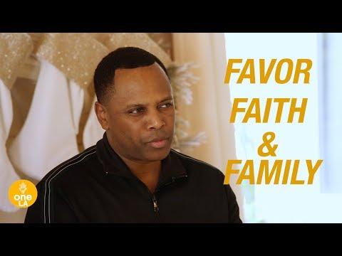 """""""Favor, Faith & Family"""" -Touré & Sarah Roberts"""