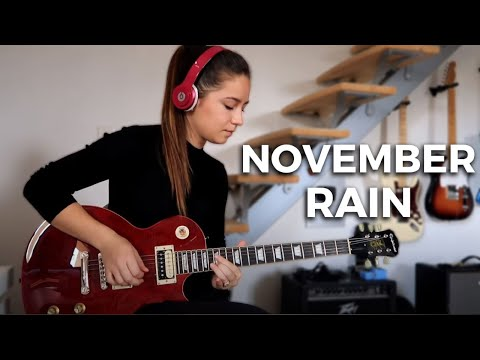 Guns N' Roses - November Rain Solo (Cover By Chloé)