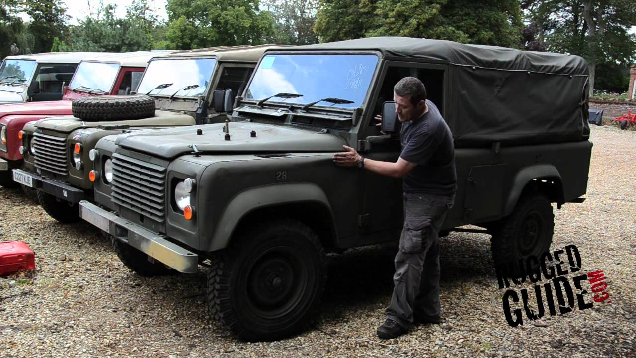 Military Land Rover Defender Buying Guide Youtube