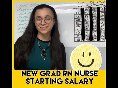 NEW GRAD RN NURSE STARTING SALARY (2020)