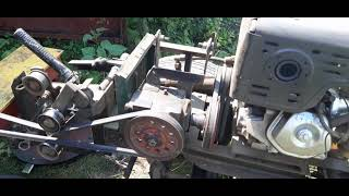 Роторная косилка КР 1,1 первый тех осмотр (что и как )