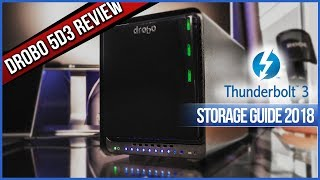 Drobo 5D3 Review Cheapest Thunderbolt 3 Storage - Storage Guide 2018