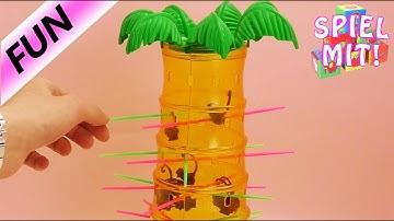 S.O.S. Affenalarm lustigesSpiel mit Affen ab 5 Jahren demo mit Kaan, Nina und Kathi