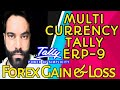 how to use multi currency in tally erp 9