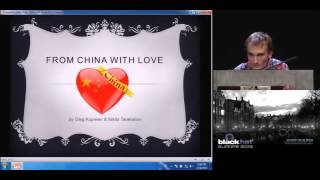 [BlackHat EU 2013] Huawei - From China with Love