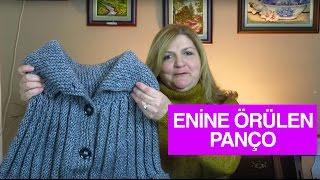 Örgü ile Enine Örülen Yetişkin Bayan Pançosu - Örgü Modelleri
