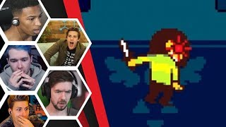 Let's Players Reaction To The Ending Of Deltarune | Deltarune