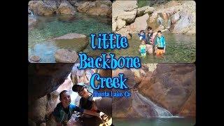 Little Backbone Creek Hike & Water Slide